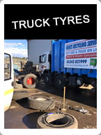 Truck Tyres from Moray Tyre Services Elgin