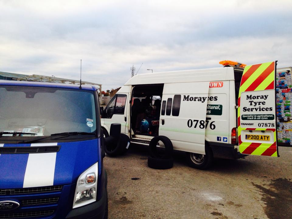Van Tyres from MOray Tyre Services Elgin
